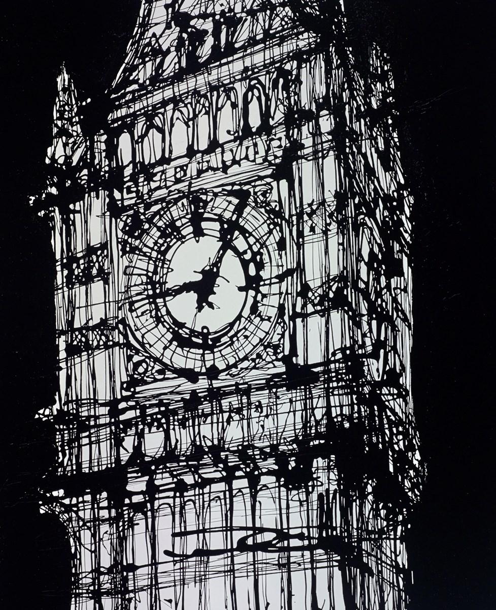 Elizabeth Tower Past Nine